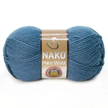 Pure Wool - Antik Mavi