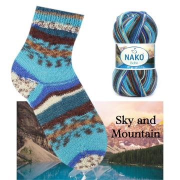 Boho Konsept - Sky and Mountain